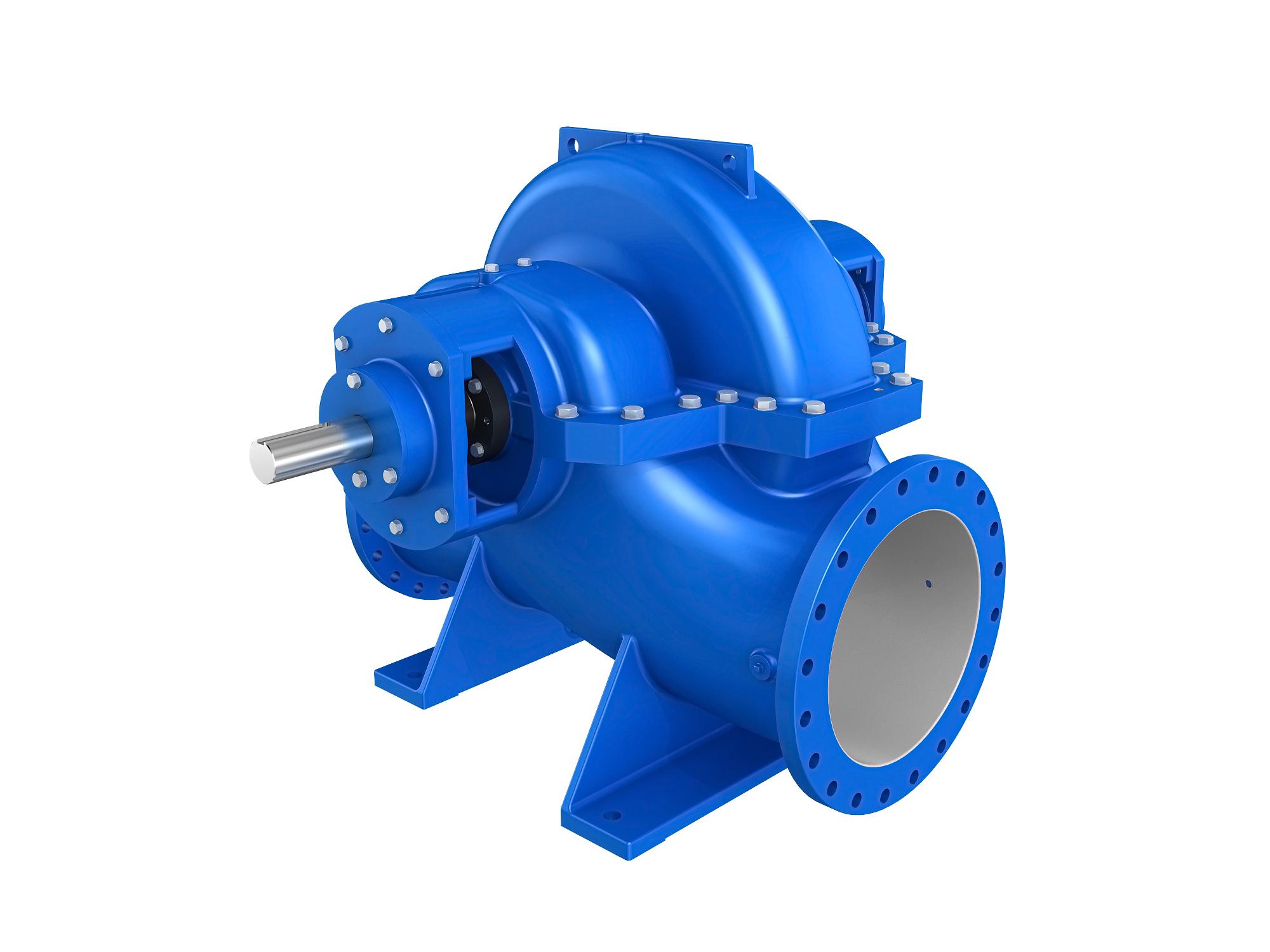 SBS、SBSL系列轴向中开标准双吸泵